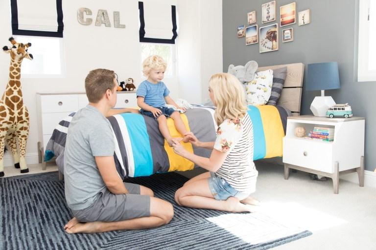 Cal's New Big Boy Room